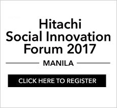 Hitachi Social Innovation Forum 2017 Manila. Click here to register