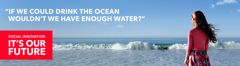 If we could drink the ocean, wouldn't we have enough water?
